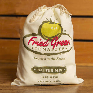 bag of fried green tomato batter mix