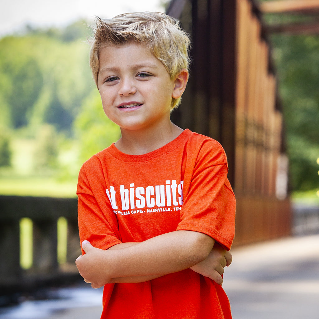 Orange Got Biscuits Toddler Tee