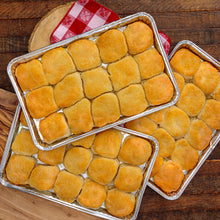 Load image into Gallery viewer, 3 trays of frozen southern biscuits from the loveless cafe