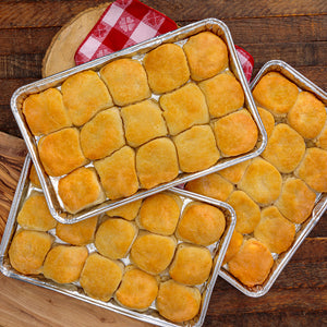 3 trays of frozen southern biscuits from the loveless cafe