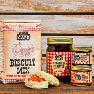 "Loveless Cafe Southern-Style Biscuit and Preserves ""Throwdown"" Gift Set"