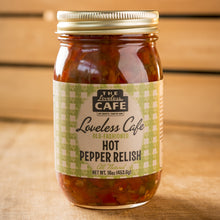 Load image into Gallery viewer, Loveless Cafe Hot Pepper Relish