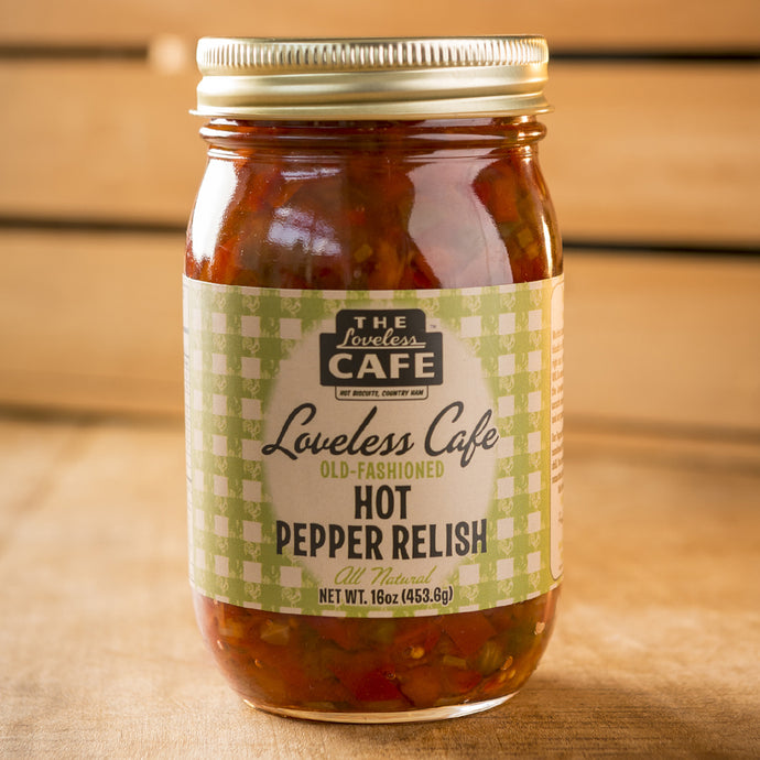 Loveless Cafe Hot Pepper Relish
