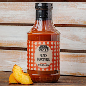 Peach Flavored Bar-B-Q Sauce