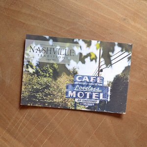 nashville tradition postcard