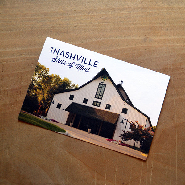 nashville state of mind postcard