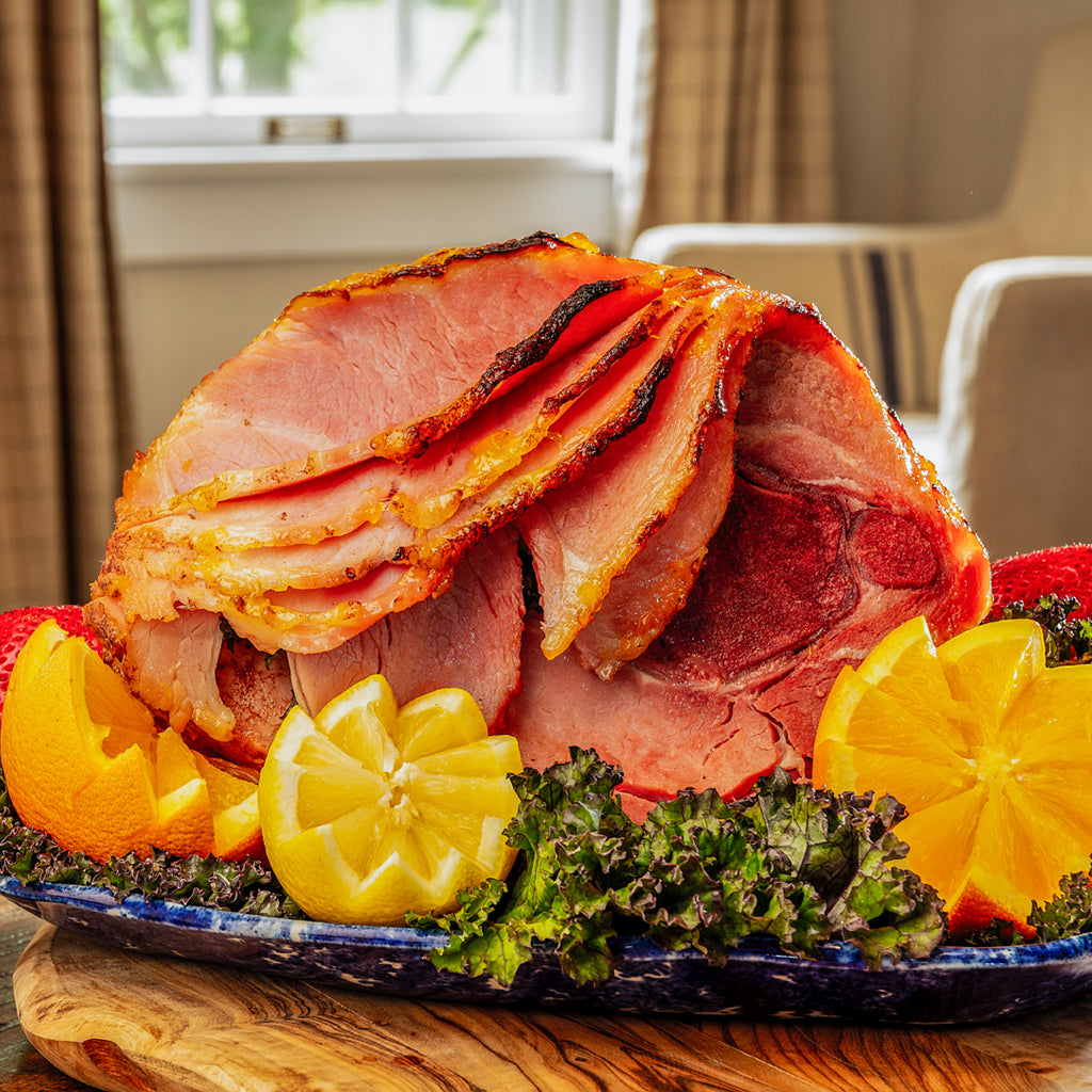 pre-cooked spiral cut smoked ham