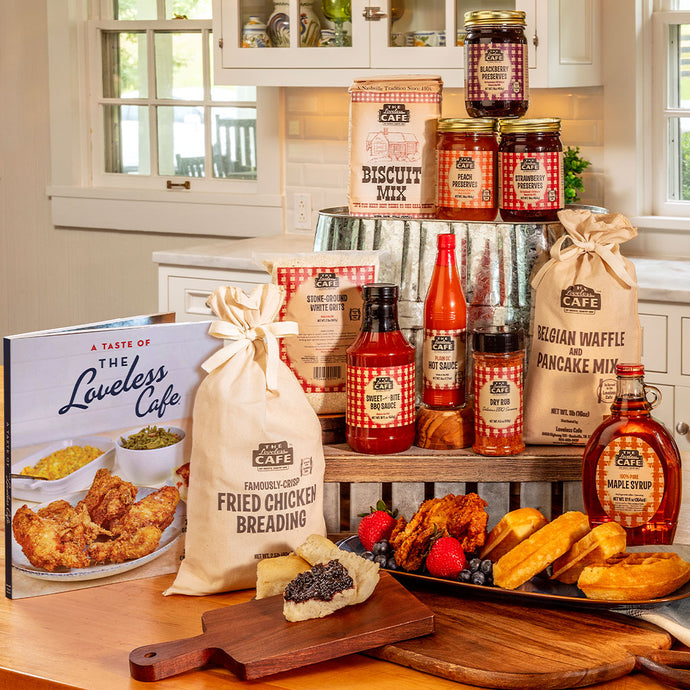 Loveless Cafe Southern Comfort Foods Gift Basket Set
