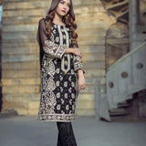 Agha Noor 2Pc Unstitched Lawn Collection ANL-Black