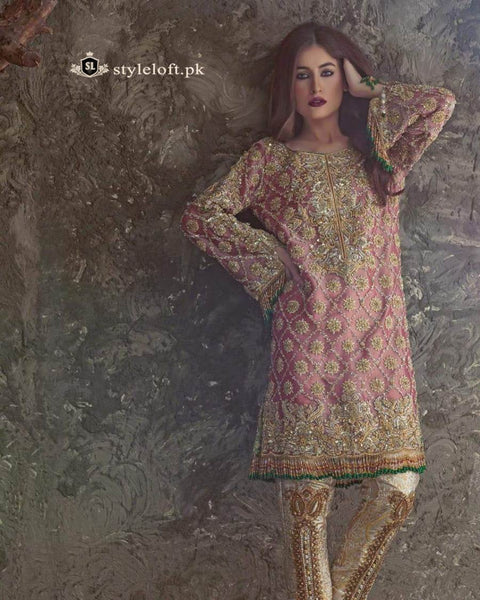 Anas Abrar Designer 3Piece Maysoori Dress