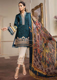 Anaya by Kiran Chaudhry Embroidered Lawn Unstitched 3 Piece Suit AKC19L 07 Electra - Spring / Summer Collection
