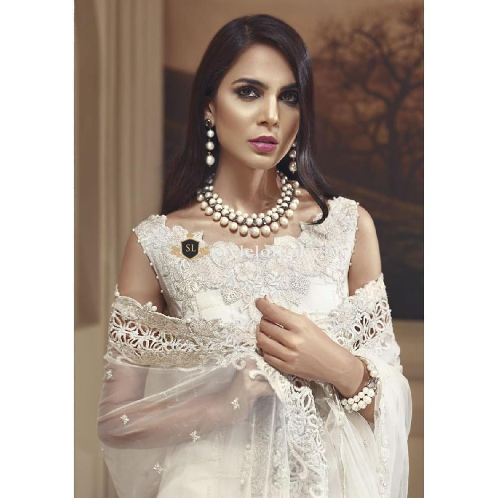 9fdd35b011 Anaya Wedding Collection 2018-Ivory Harvest | 4490.00 PKR – Styleloft.pk
