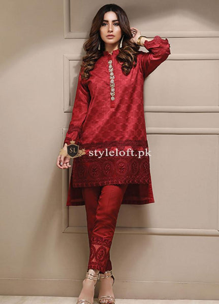 Azure Pret Embroidered Lawn Collection 2Piece Suit