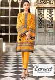 STYLE LOFT.PK Bareeze Embroidered Lawn 2Piece Suit Color-Yellow