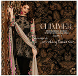 Charizma Chimmer Embroidered Chiffon Collection 2018