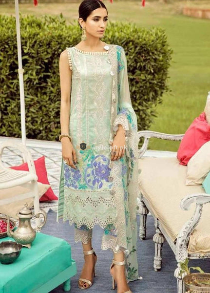 STYLE LOFT.PK Charizma Embroidered Linen Unstitched 3 Piece Suit CRZ19EF 37 SOOTHNG FACTOR