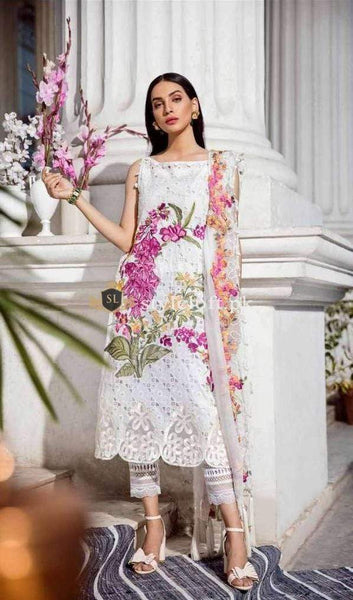 STYLE LOFT.PK Charizma Festive Eid Collection 2019 Unstitched 3Piece Suit ED-33