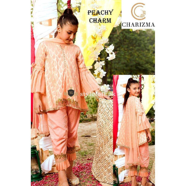 Charizma Kids 2Piece Peachy-Cream