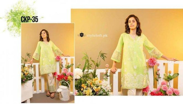 STYLE LOFT.PK Charizma Kids Lawn Collection 2019 Unstitched 2Pc Suit CKP-35