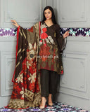 Charizma Linen Collection 3Piece - Wool Shawl SH-10