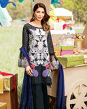 Charizma Schiffli Cutwork Embroidered Lawn 3Piece Suit