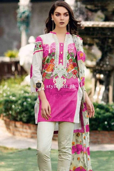STYLE LOFT.PK Charizma Sheen Lawn Collection 2019 3Piece Suit SH-02-B