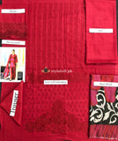 Charizma Winter Poshema Collection 2018 PS-15 Red
