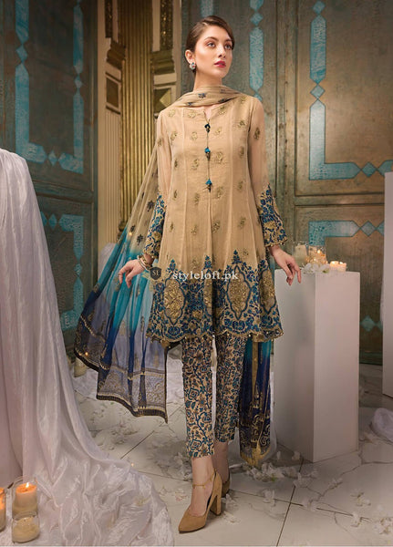 1496176ff92 ... Edenrobe Embroidered Lawn Unstitched 3 Piece Suit ED18-F2 19336 - Festive  Collection 2019 ...