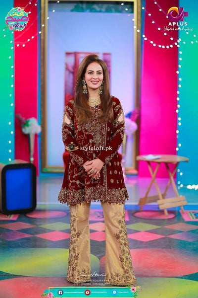 STYLE LOFT.PK Ek Nayee Subah With Farah Spotted Lawn 2Piece Suit