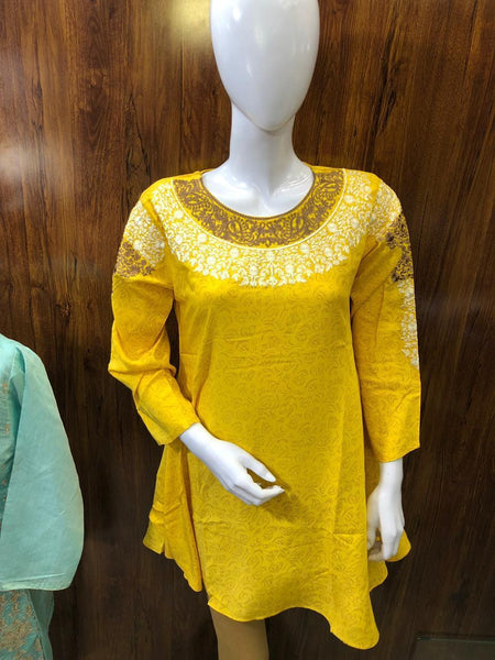 STYLE LOFT.PK Embroidered Lawn Kurti Spring/ Summer Collection 2019 StyleLoft-1904