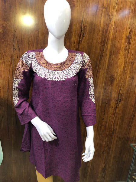 STYLE LOFT.PK Embroidered Lawn Kurti Spring/ Summer Collection 2019 StyleLoft-1904 Small / Yellow