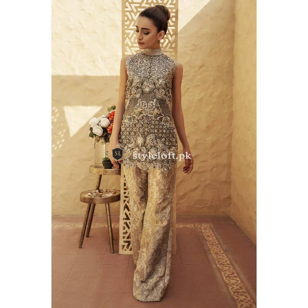 Erum Khan Pret Wear Skin Modern Chic 3Piece Suit
