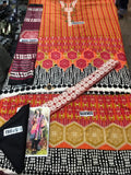 Ethnic by Outfitters Linen 3Piece with Wool Shawl ETH-1903