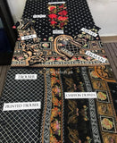 Ethnic Lawn Collection 3Pc Embroidered ETH-19-Black