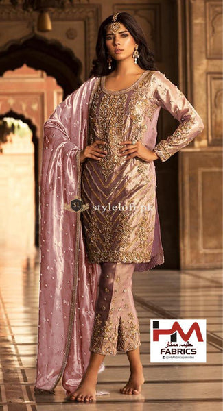 STYLE LOFT.PK Faiza Saqlain Embroidered Unstitched 3 Piece Suit Dil-e-Raas - Luxury Collection