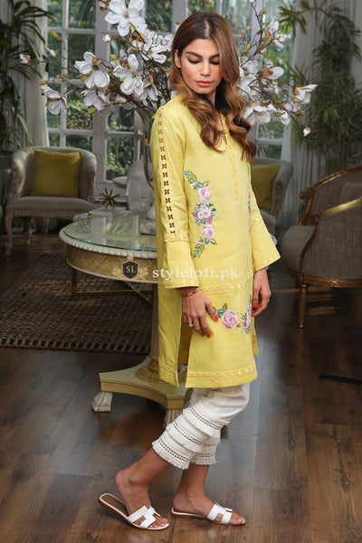 Farida Hassan Embroidered Lawn Unstitched 2Pc Suit