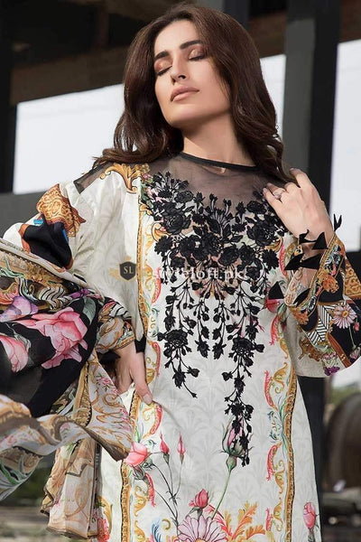 STYLE LOFT.PK Firdous Lawn Collection Vol-2 2019 Unstiched 3 Piece Suit FR19-02