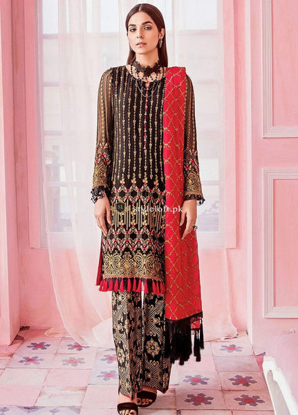 STYLE LOFT.PK Flossie Embroidered Lawn Collection 2019 3Piece Dress FS-05