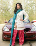 STYLE LOFT.PK Gorgeous Sana Javed Spotted - 2 Piece Unstitch Linen Suit