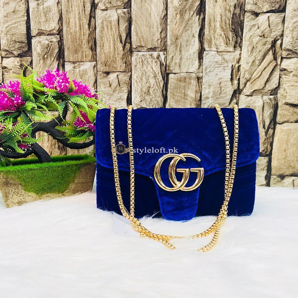 GUCCI Cross Body Shoulder Bag for Ladies and Girls Blue