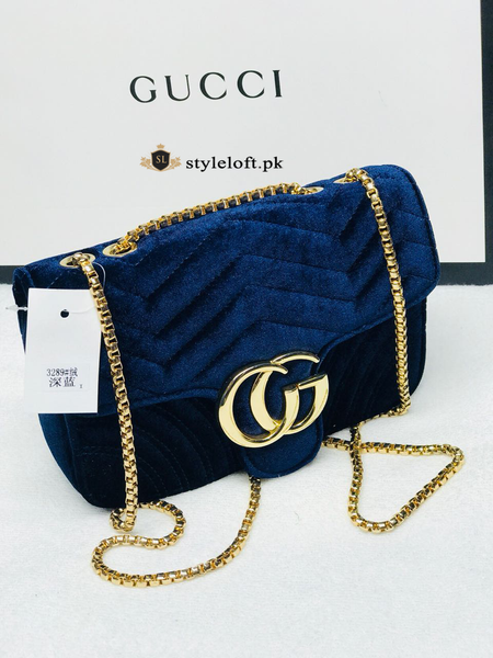 GUCCI PURSE BLUE GP-01