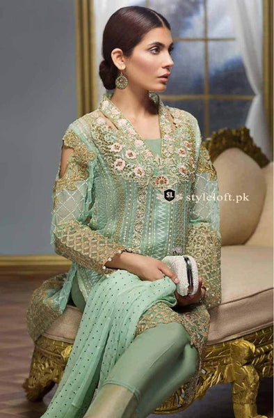 GUL AHMED Chiffon Dress PM-119