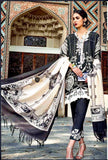 Gul Ahmed Linen, Wool Shawl 3Piece PSM-03