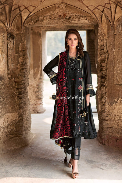 Gul Ahmed Spring & Summer Lawn Collection 2019 PM-281