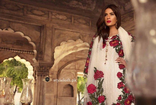 Gulaal Premium Chiffon Collection 2019 Unstitched 3 Piece Suit-Festive Collection