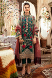 STYLE LOFT.PK Imrozia by Serene Embroidered Organza Unstitched 3 Piece Suit SEI19E 706 THE MYSTIC OCEANIA - Luxury Collection