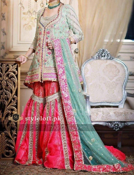 STYLE LOFT.PK IRFAN AHSON CHIFFON EMBROIDERED BRIDAL COLLECTION