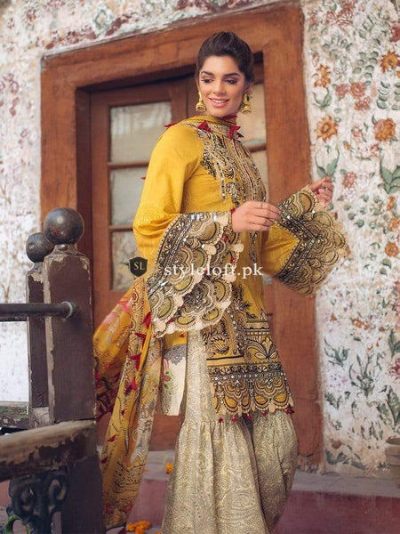 STYLE LOFT.PK Ittehad Textile Lawn Collection 2019 3Piece Suit ITH-1901