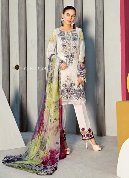 STYLE LOFT.PK Iznik Festive Linen Collection 2019 Unstitched 3 Piece Suit IFL-04