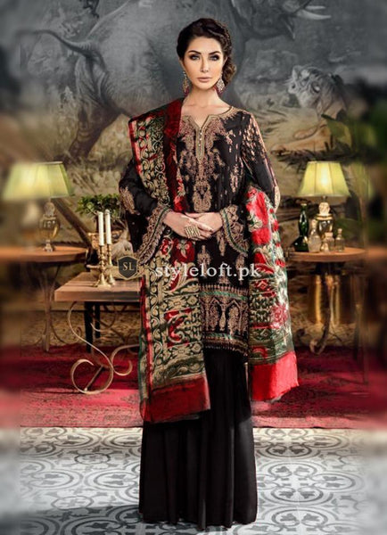 Iznik Lawn Collection 2019 Embroidered 3Pc IZ-19B